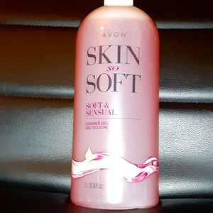 Avon- Skin so Soft: Soft & Sensual shower gel
